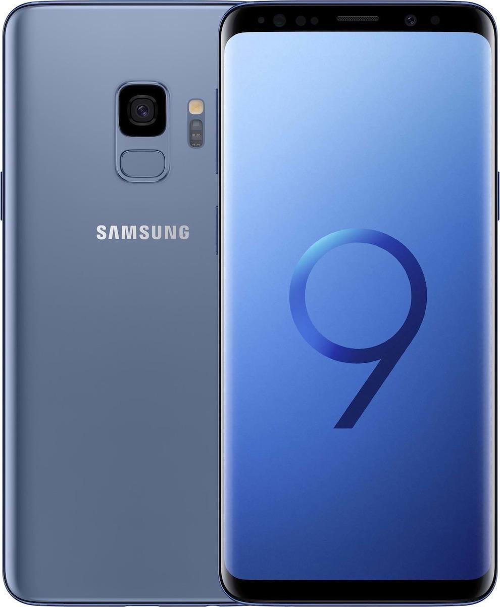 Samsung Galaxy S9 Dual Sim - 128GB, 4GB Ram, 4G LTE, Blue