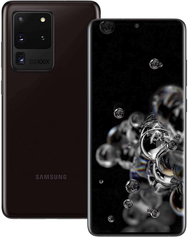 Samsung Galaxy S20 Ultra 5G, 12GB RAM, 512GB, Cosmic Black