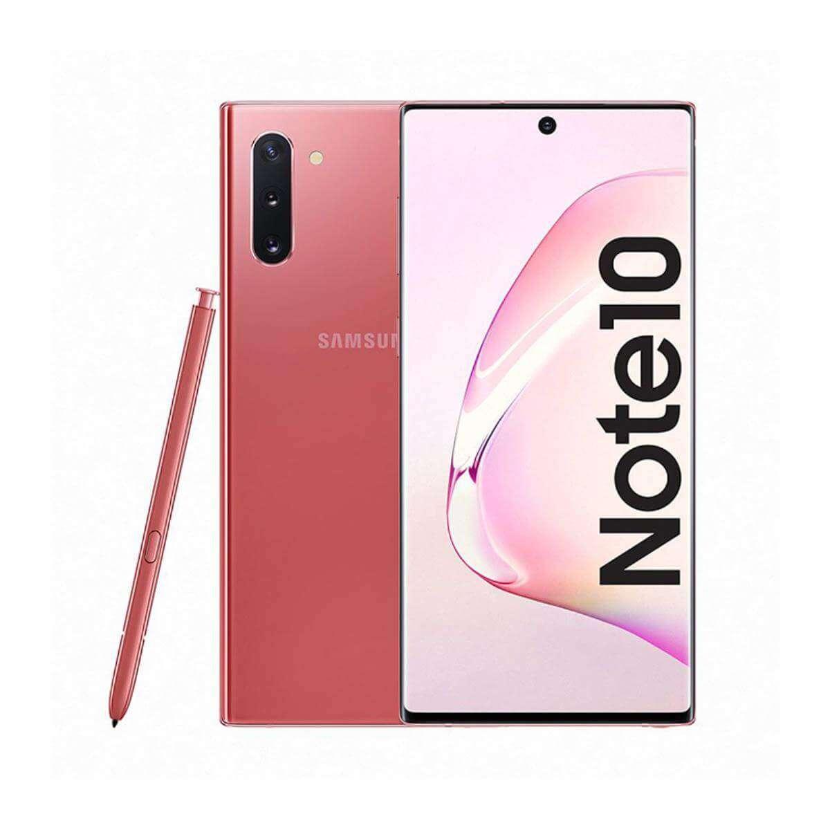 Samsung Galaxy Note 10 Dual SIM - 256GB, 8GB RAM Aura Pink
