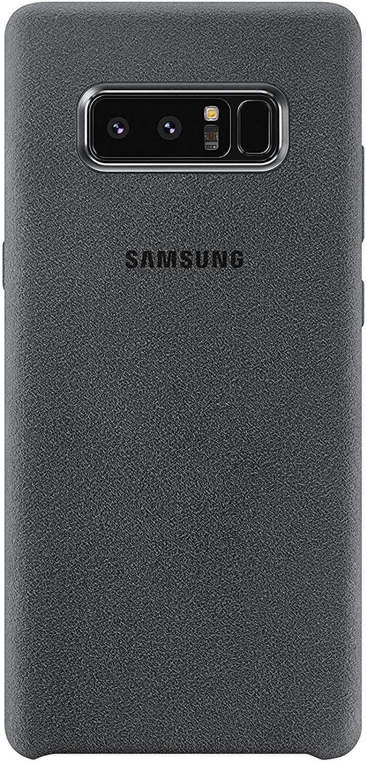 Samsung Galaxy Note 8 Alcantara Cover - Dark Gray