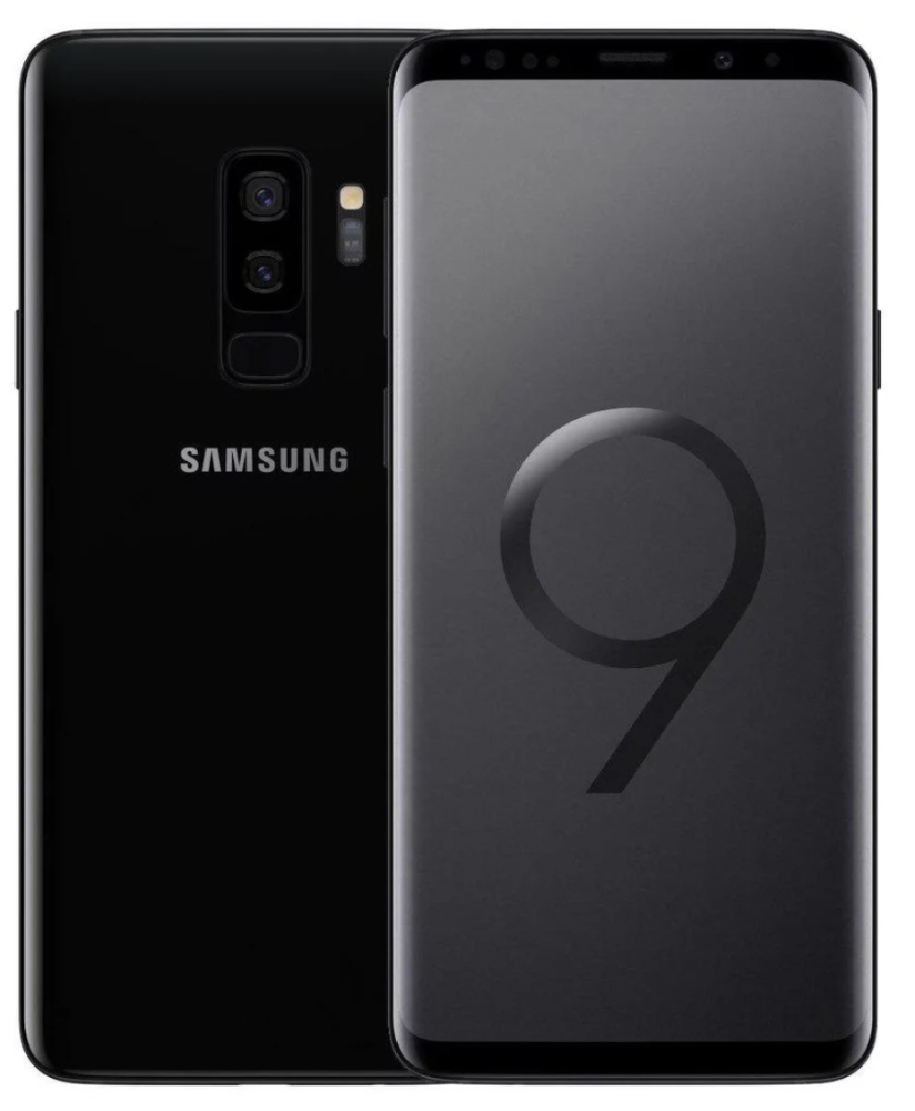 Samsung Galaxy S9+ Dual Sim - 128GB,6GB Ram,4G LTE, Black