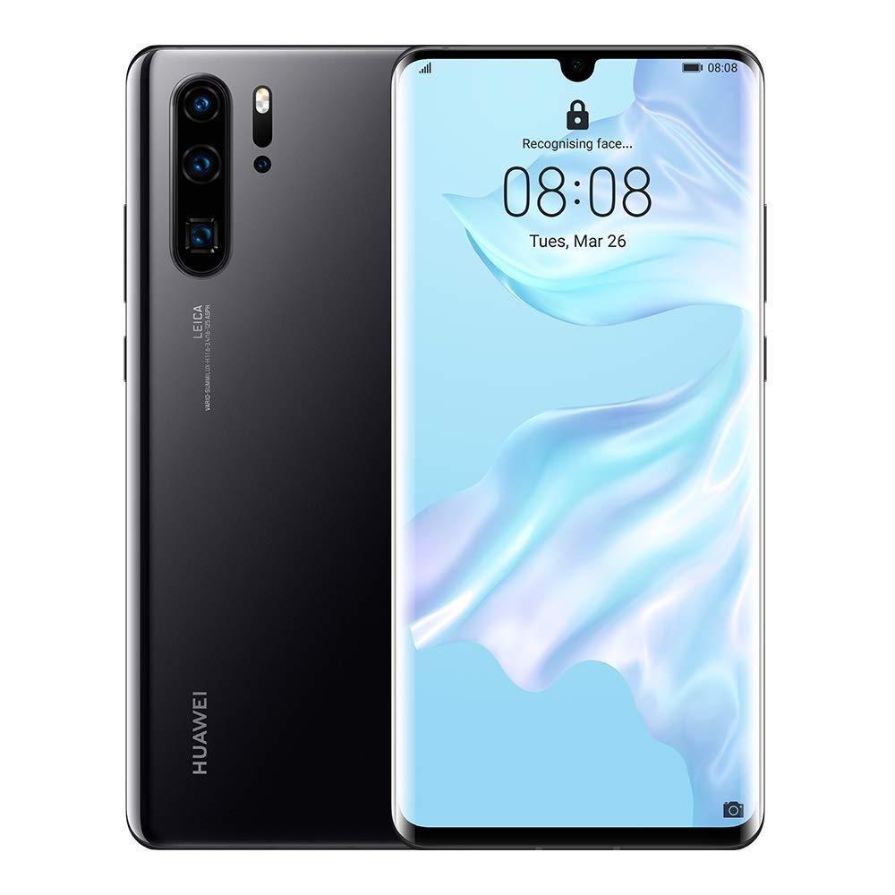 Huawei P30 Pro Dual SIM - 128GB, 8GB RAM, 4G LTE, Black