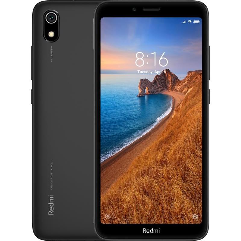 Xiaomi Redmi 7A Dual SIM - 32GB, 2GB RAM, 4G LTE, Matte Black Global Versia