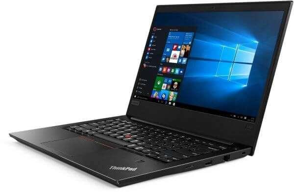 Lenovo ThinkPad E490 Laptop With 14-Inch Display, Core i7-8565U Processor/8GB RAM/1TB SATA HDD/2GB Integrated Intel Graphics Black