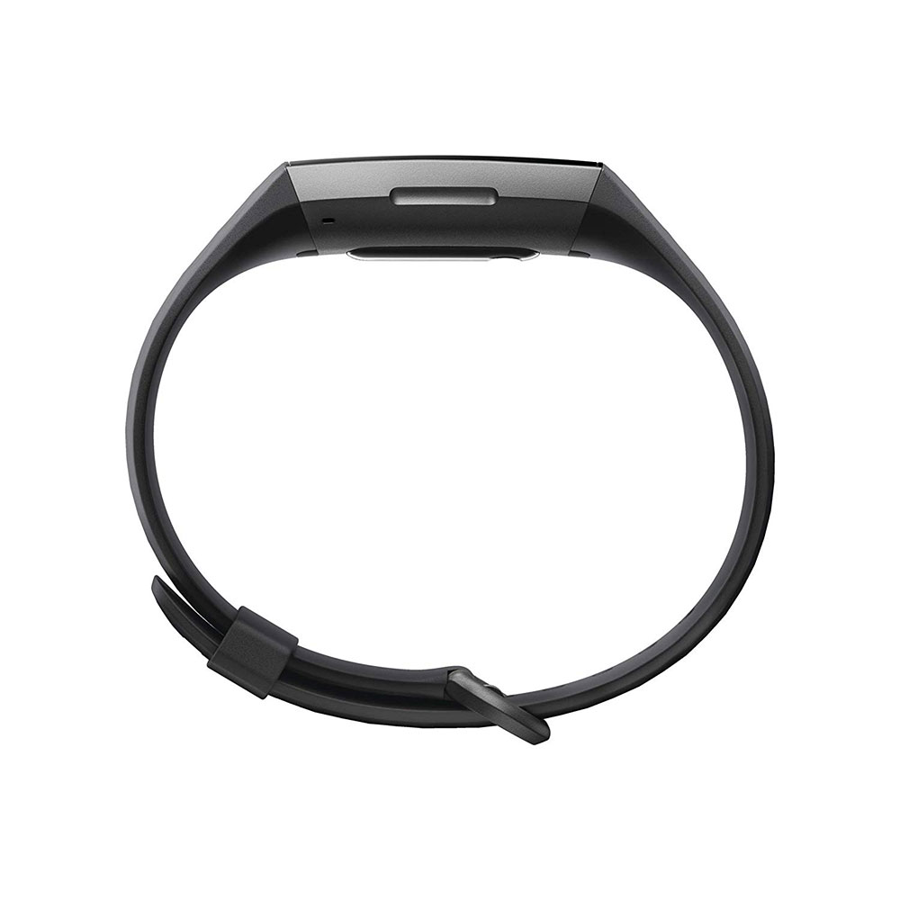 Fitbit Charge 3 Fitness Wristband with Heart Rate Tracker - Gunmetal/Black (FB409GMBK)