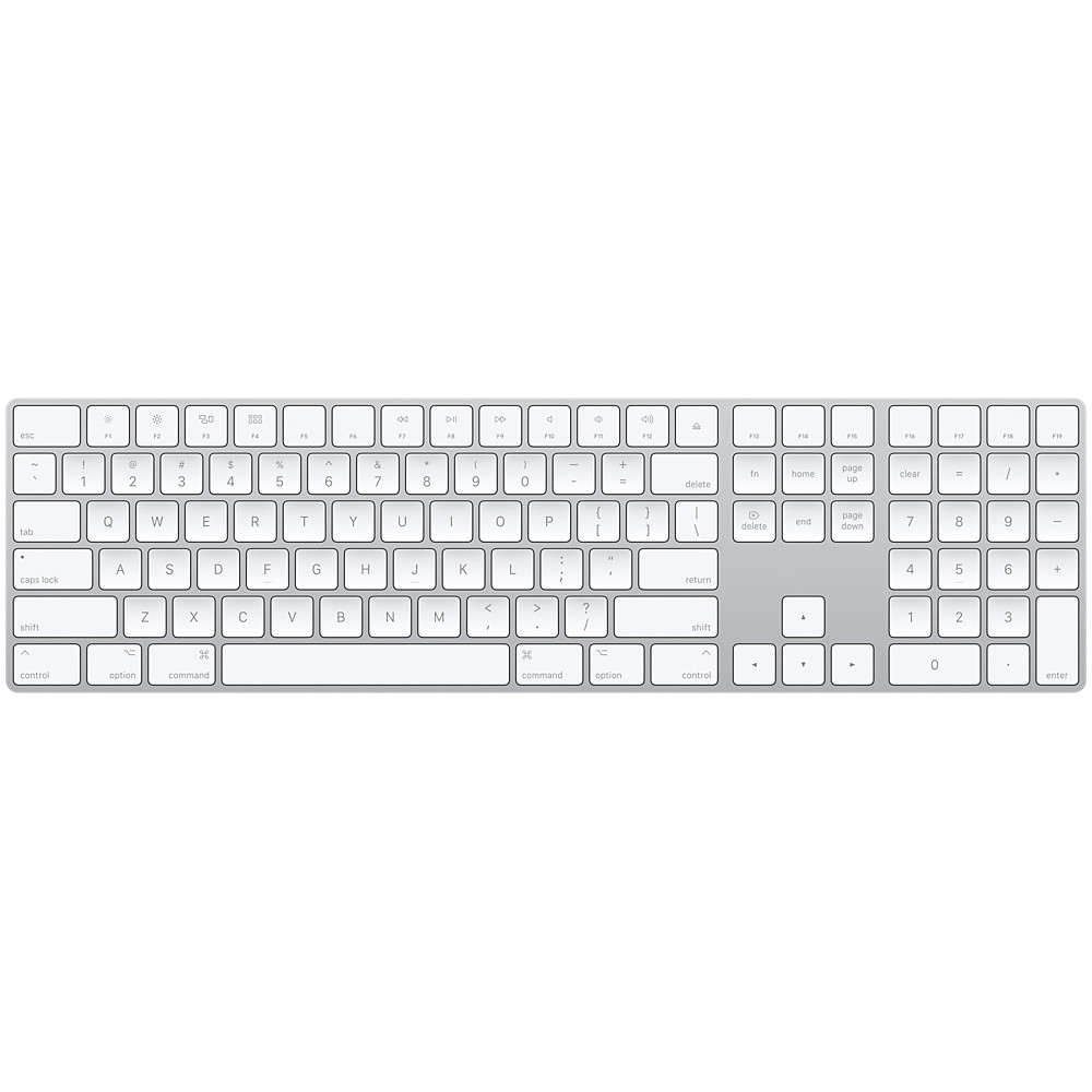 Apple Magic Keyboard with Numeric Keypad Silver- Arabic/English (MQ052)
