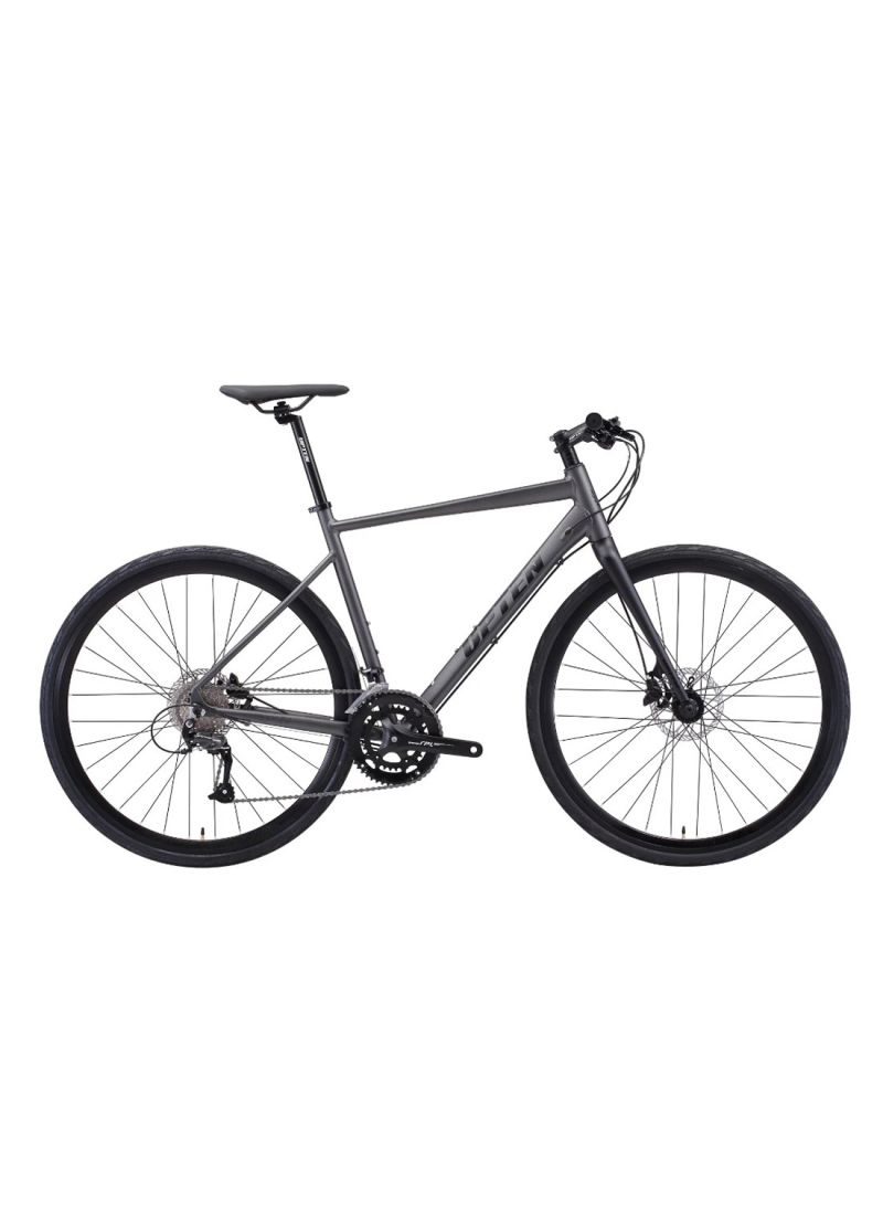 UPTEN Jupiter Hybrid Bike 700 C Matte Black (M)
