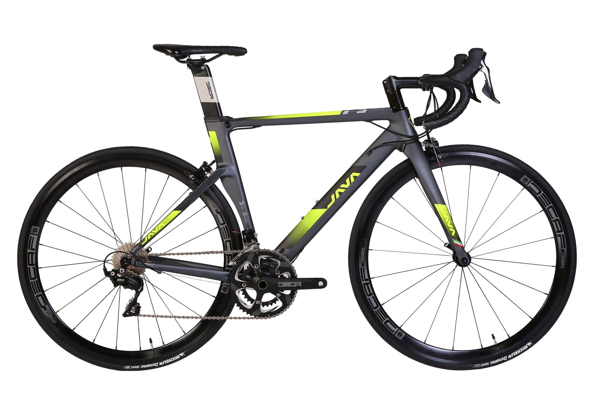 JAVA Fuoco 3 Road Bike 28-Inch Grey