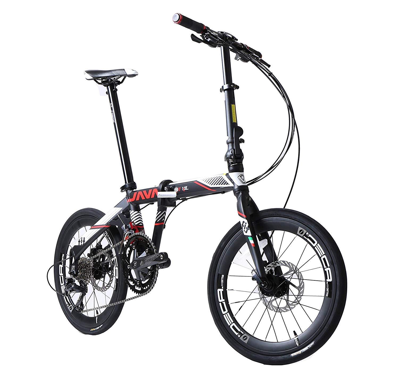 JAVA Fit 18S Folding Bike 20-Inch