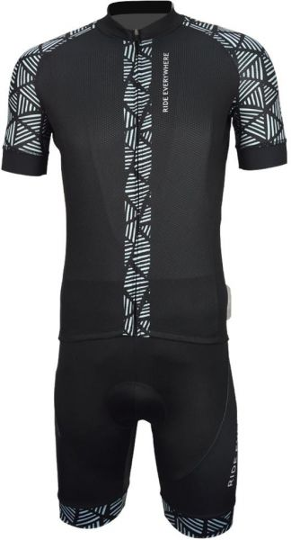 UPTEN Cycling Jersey With Bib Tights - XL