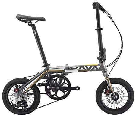 JAVA X1 Foldable Kids Bike 14 inch - Grey