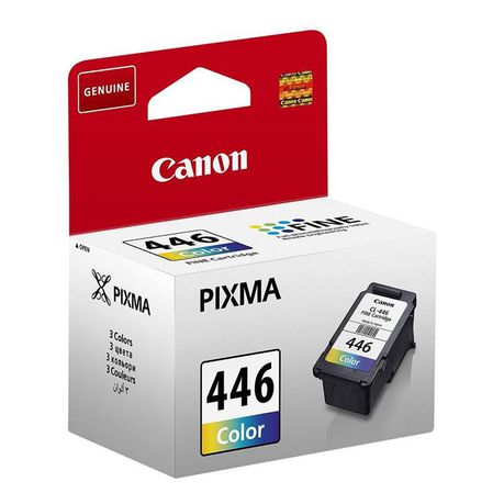 Canon Pixma Ink Cartridge - Cl-446,Cyan/magenta/yellow, Multi Color