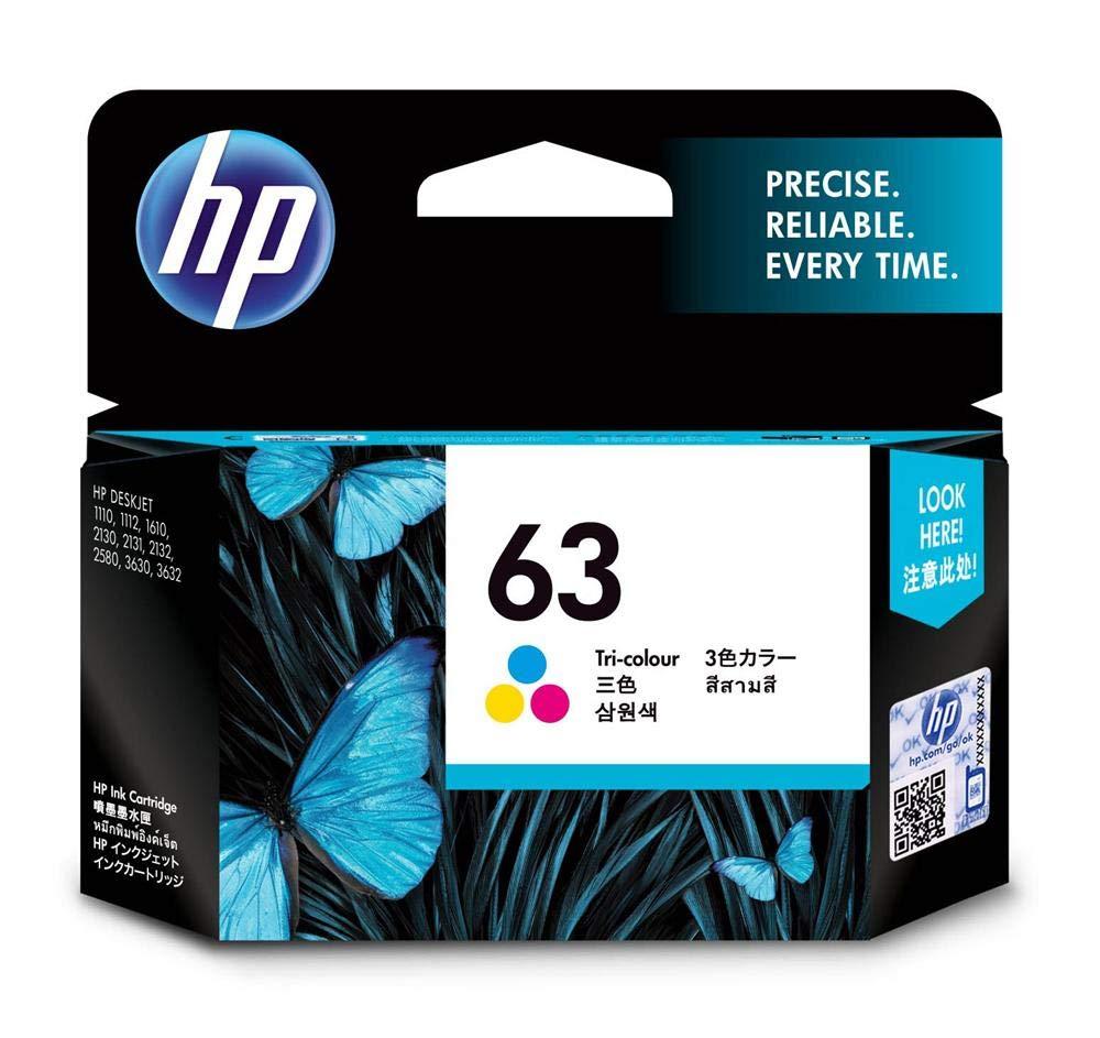 Hp 63 Tri-colour Ink Cartridge