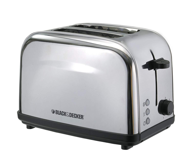 Black & Decker 2 Slice Stainless Steel Toaster ET222-B5