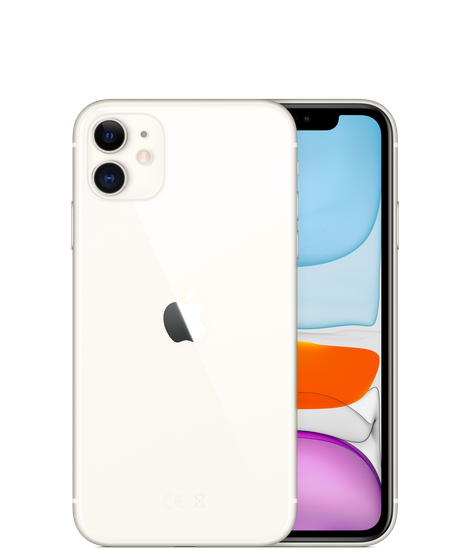 Apple iPhone 11 Dual SIM With FaceTime - 64GB, 4G LTE White