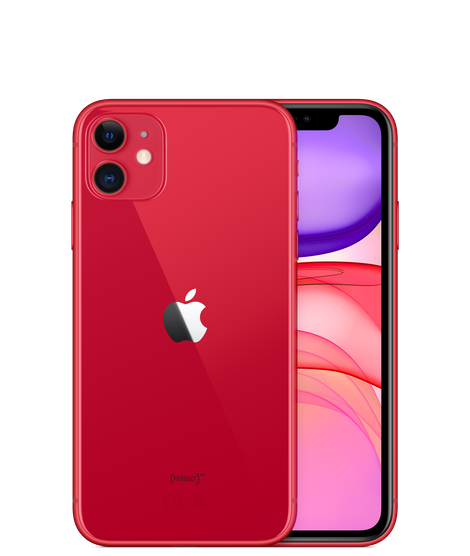 Apple iPhone 11 Dual SIM With FaceTime - 64GB, 4G LTE Red