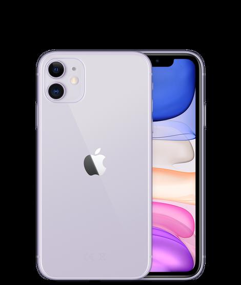 Apple iPhone 11 Dual SIM With FaceTime - 128GB, 4G LTE Purple