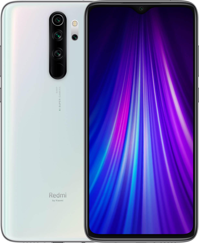 Xiaomi Redmi Note 8 PRO Dual SIM - 64GB, 6GB RAM, 4G LTE,  Pearl White Global Versia