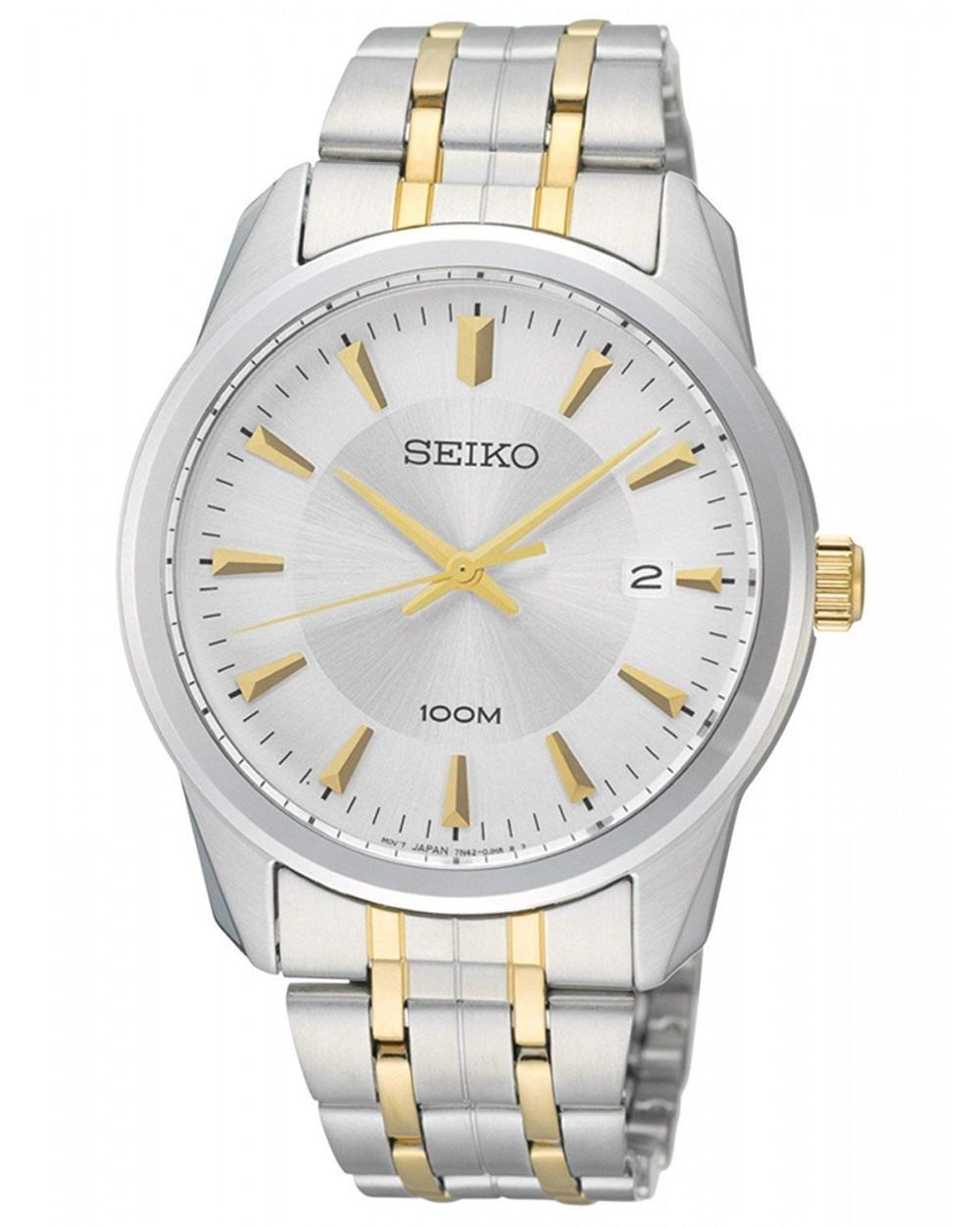 Seiko Quartz Stainless Steel SGEG07P1 Mens Watch