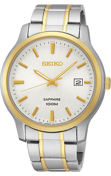 Seiko Neo Classic Quartz Sapphire 100M SGEH42P1 Men's Watch