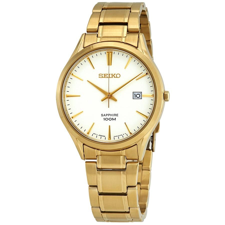 SEIKO Sapphire SGEH72P1 Silver Dial Men's Watch