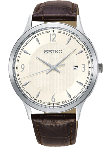 SEIKO SGEH83P1 Classic Silver Dial Men's Watch
