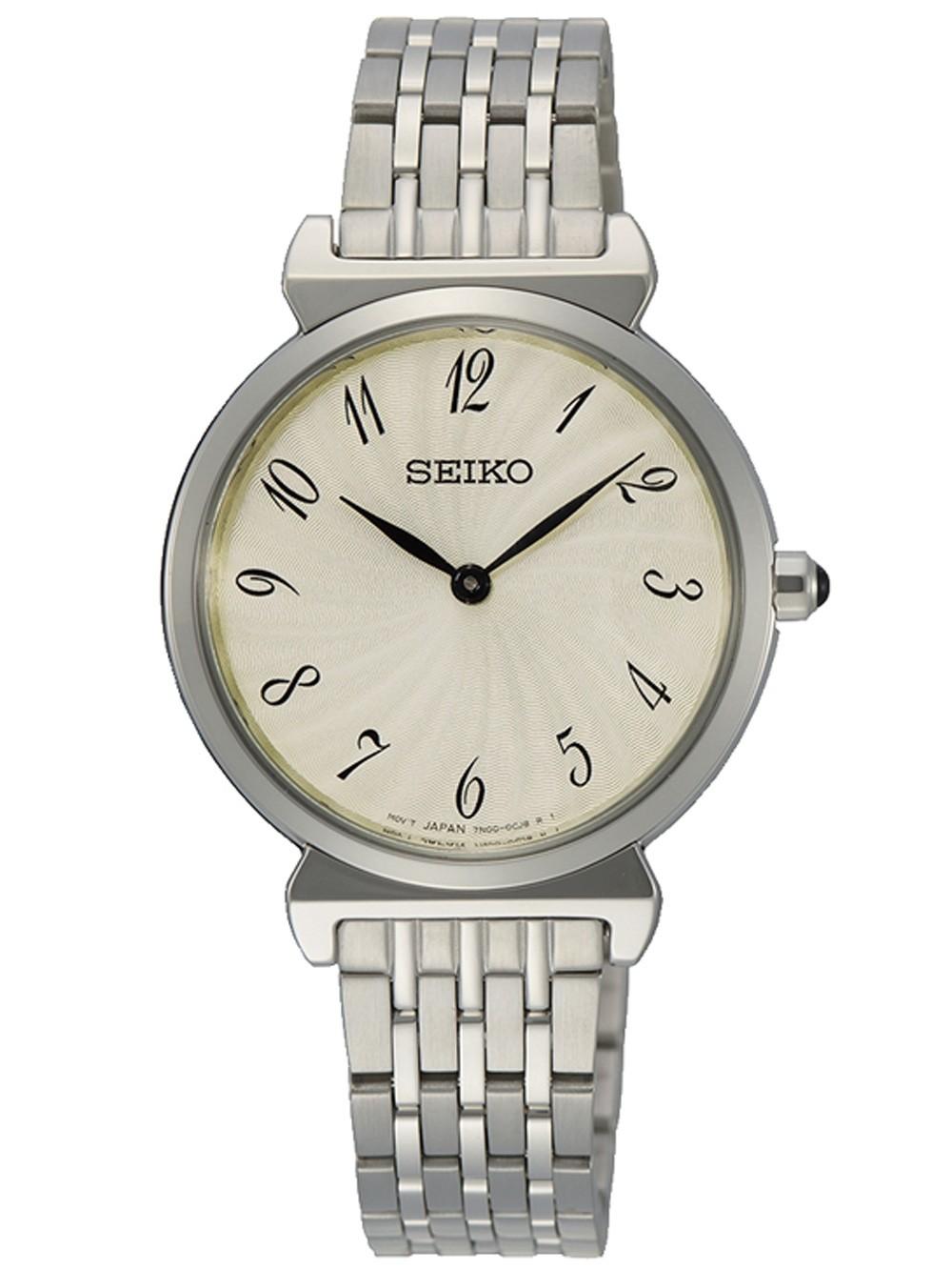 Seiko Quartz SFQ801P1 Analog Women's Watch