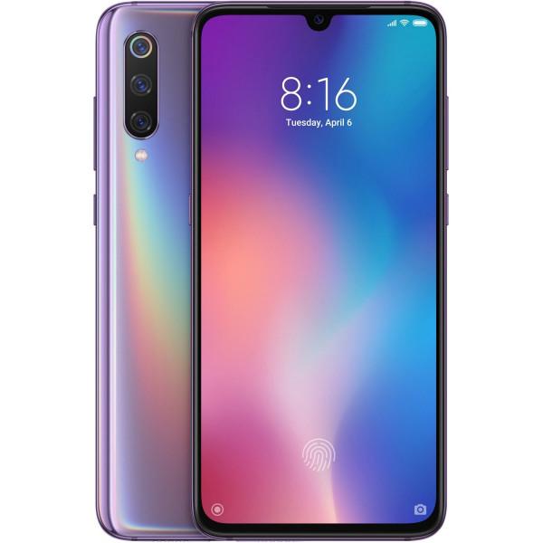 Xiaomi MI 9 Dual SIM - 64GB, 6GB RAM- Global Versia Lavender Violet