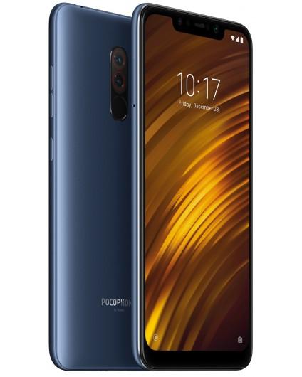 Xiaomi POCOPHONE F1 Dual SIM - 64GB, 6GB RAM, 4G LTE, Steel Blue Global Versia