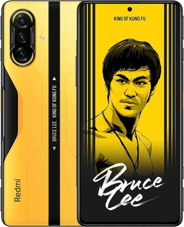 Xiaomi Redmi K40 Dual Sim 12 RAM 256G BRUCE LEE Gaming Edition Yellow