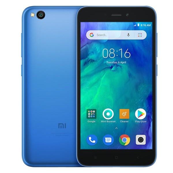 Xiaomi Redmi Go Dual SIM - 16GB, 1GB RAM, 4G LTE, Blue Global Versia