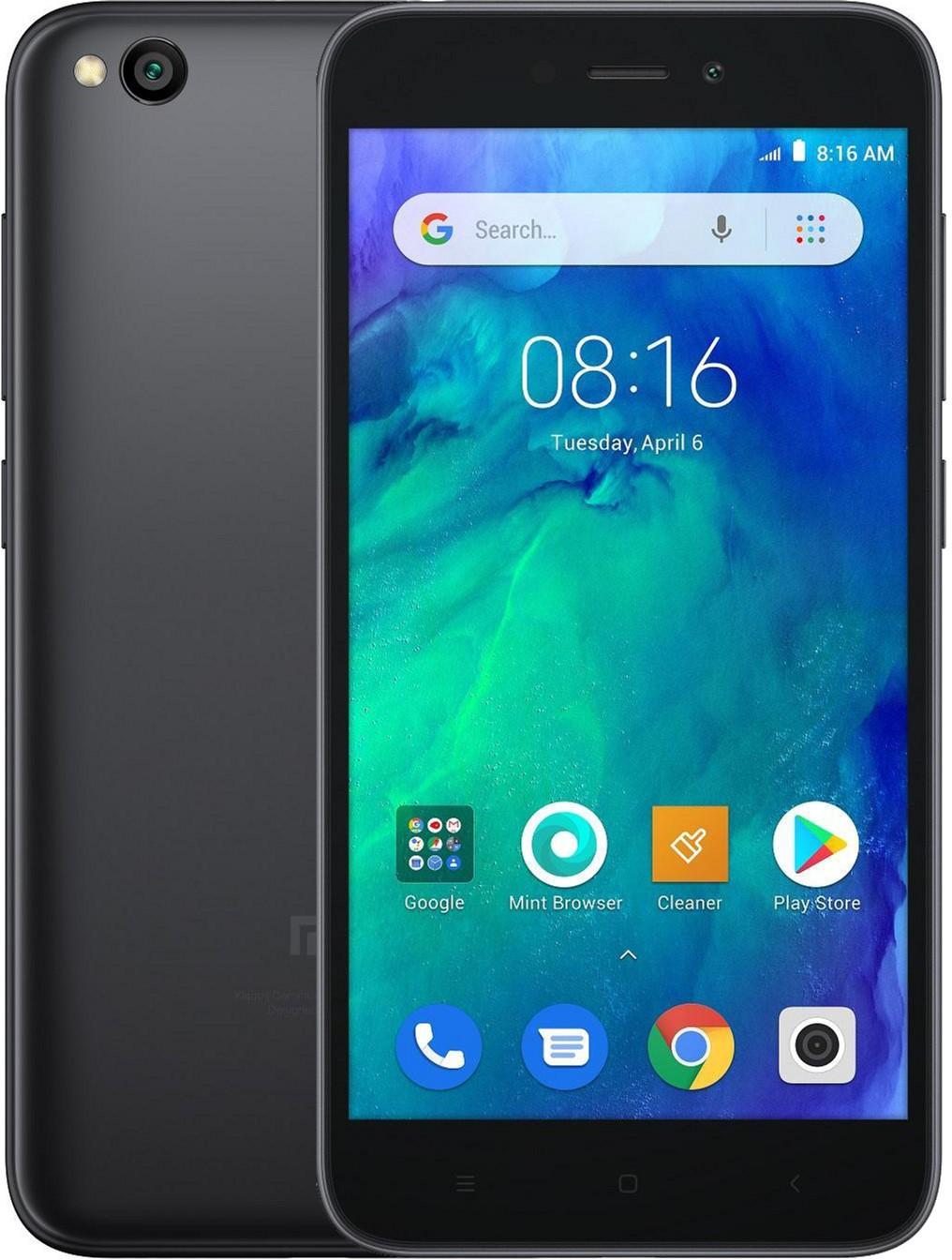 Xiaomi Redmi Go Dual SIM - 16GB, 1GB RAM, 4G LTE, Black Global Versia