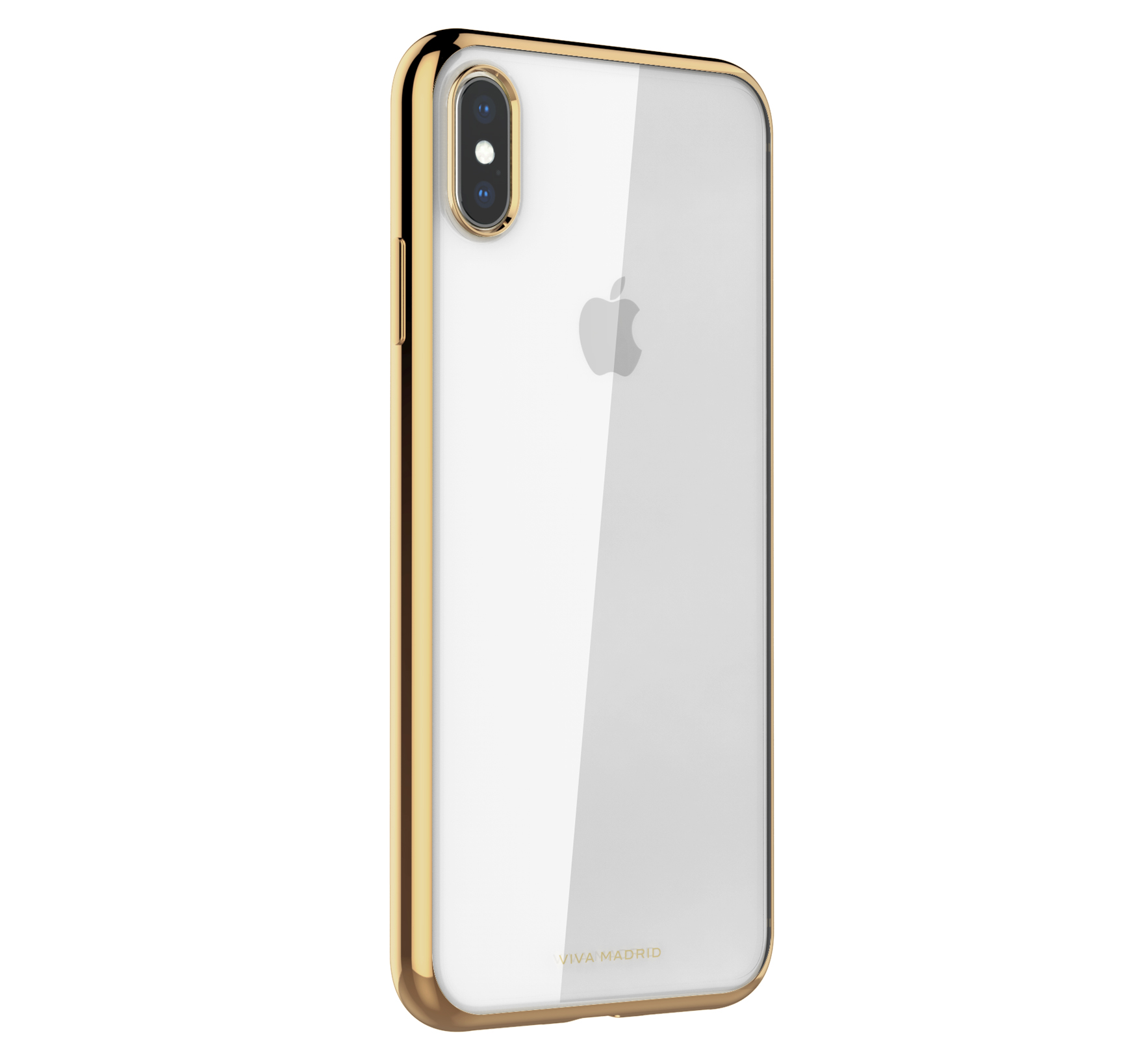 Viva Madrid Glazo Flex Back Case for iPhone Xs Max - Champagne Gold