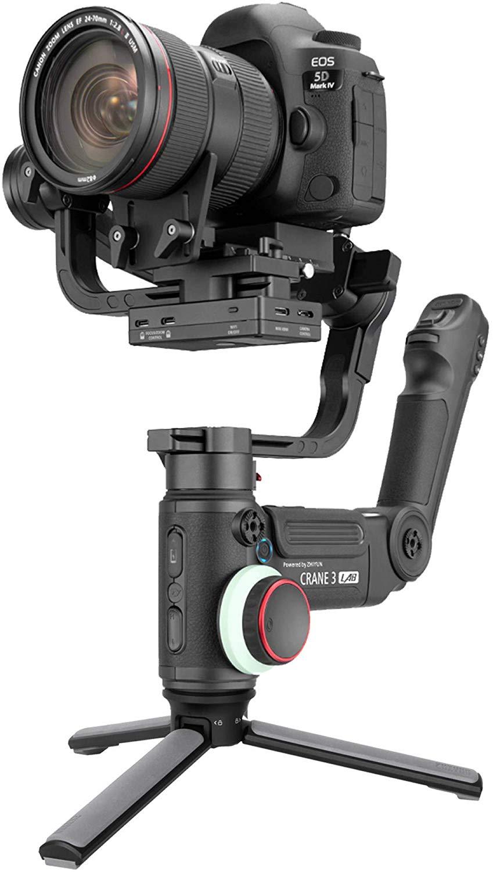 Zhiyun Crane 3 Lab, 3-axis Handheld Gimbal DSLR Camera Stabilizer - Black