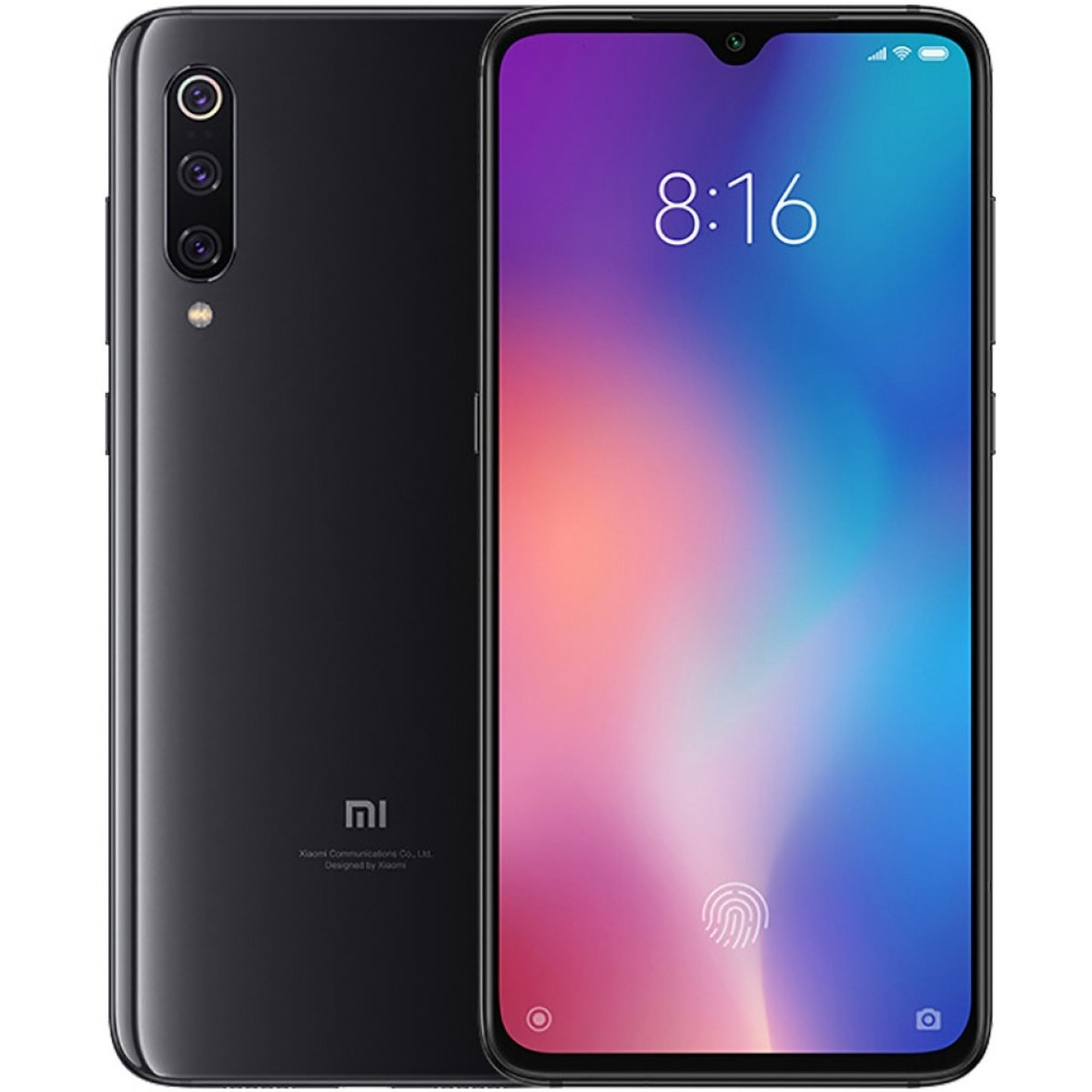 Xiaomi MI 9 Dual SIM - 64GB, 6GB RAM- Global Versia Piano Black