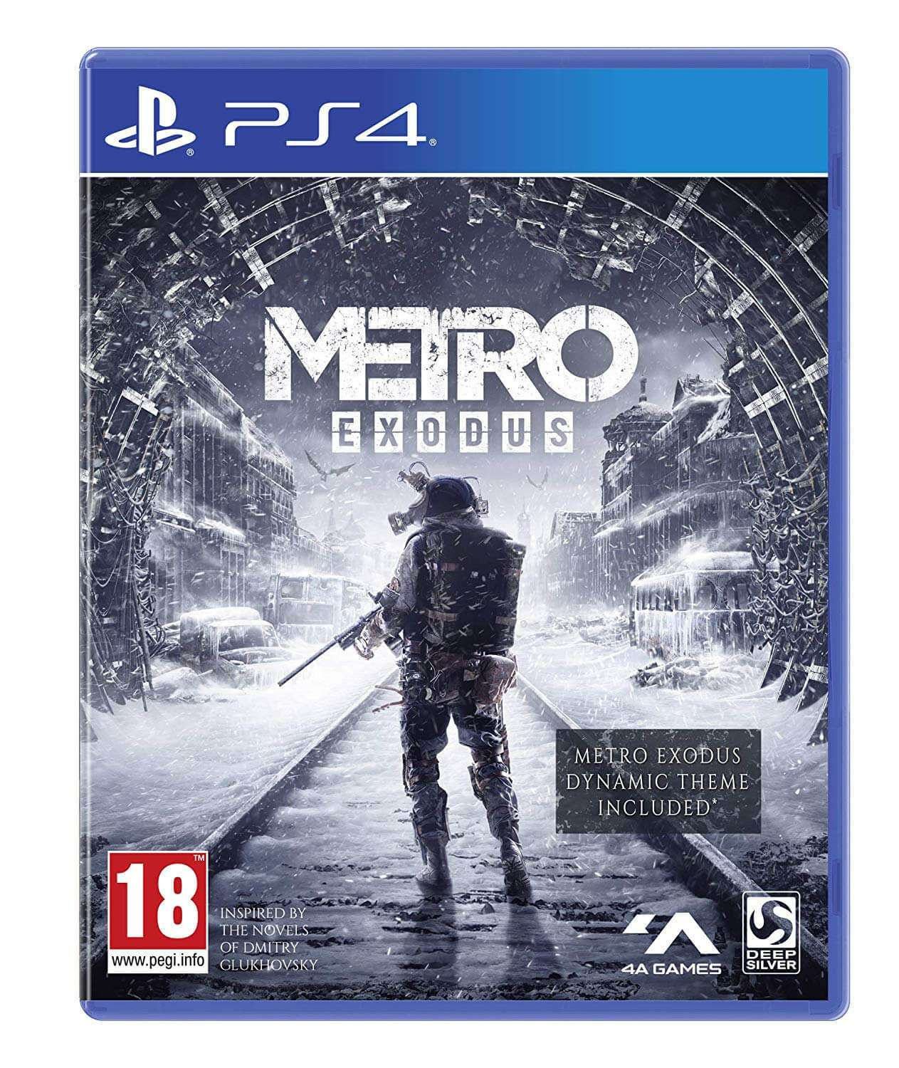 4A GAMES Metro Exodus - Playstation 4