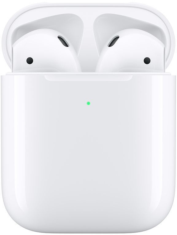 Apple Airpods 2 with Wireless Charging Case - White - (MRXJ2)